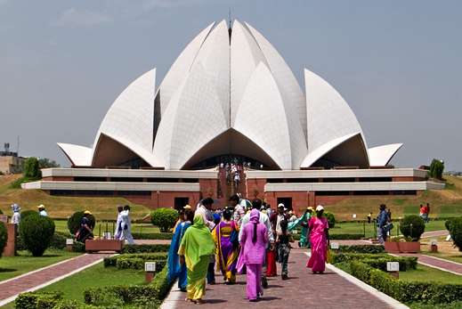 Baha'i House of Worship - New Delhi - India