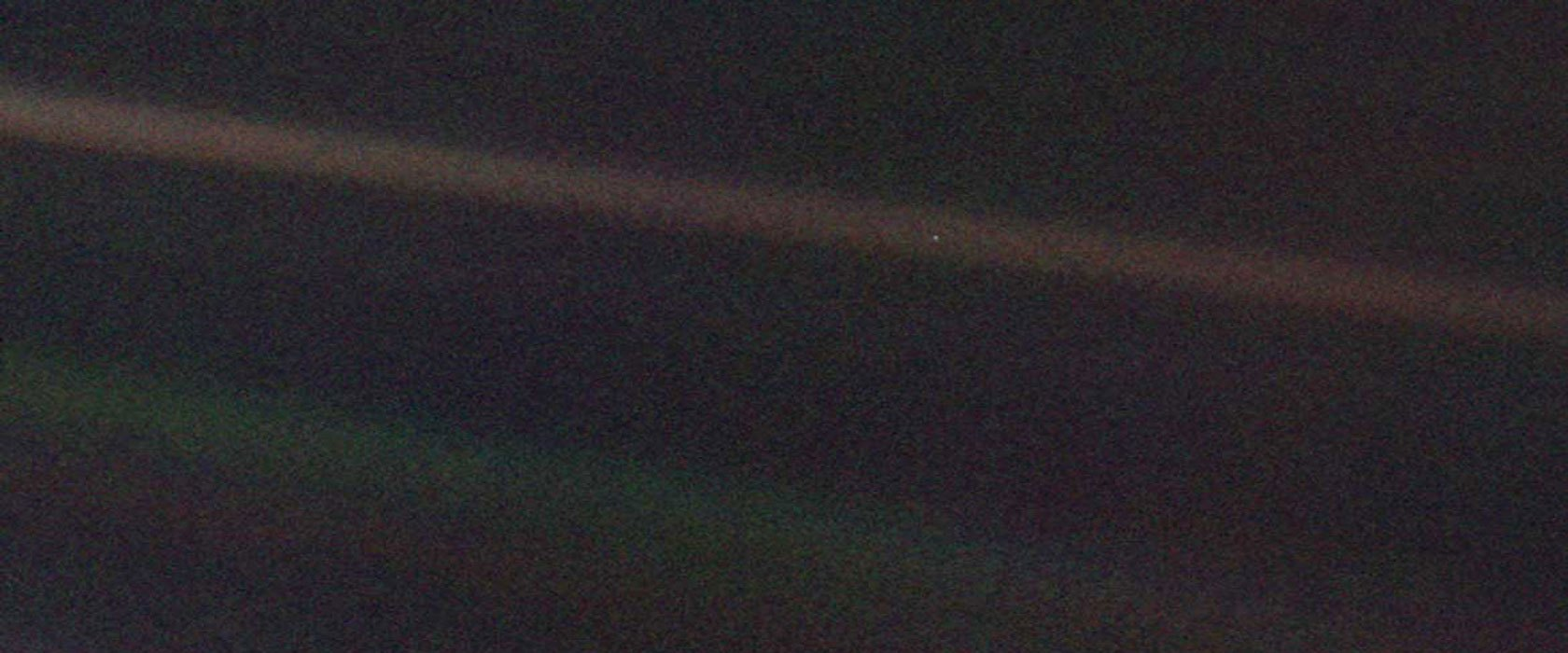 Praying for a Pale Blue Dot