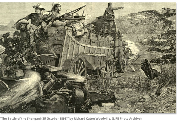 The Battle of Shangani