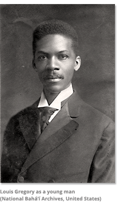 Louis Gregory as a Young Man