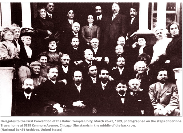 Delegates to the first Convention