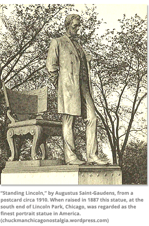 Standing Lincoln by Augustus Saint-Gaudens