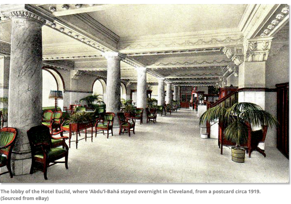 The Lobby of the Hotel Euclid