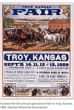 Annual Agricultural Fair in Troy, Kansas
