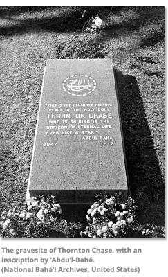 Gravesite of Thornton Chase
