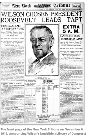 Front page of NY Tribune 1912