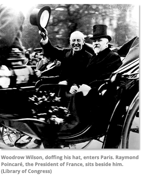 President Wilson with President of France