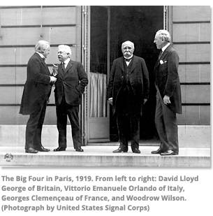 The big four in Paris