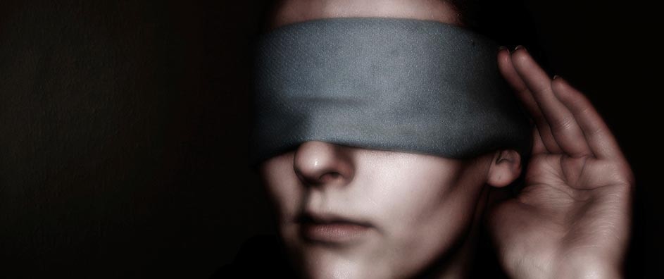 Woman in Blindfolds