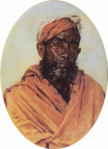 Moslem Servant by Vasily Vereshchagin