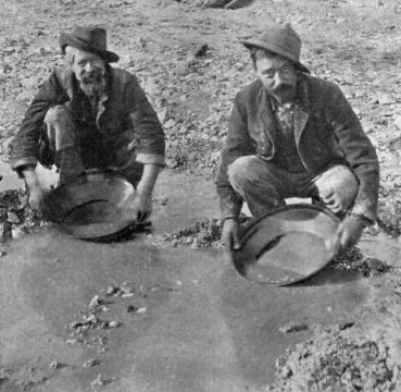 panning for gold in the gold rush - photo #8