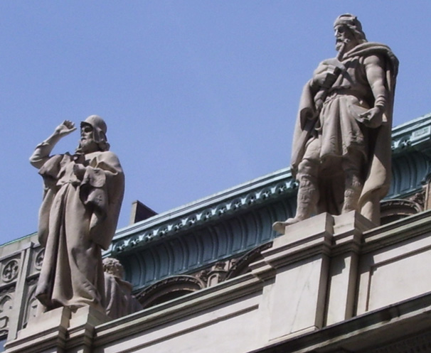Zoroaster Above New York Supreme Court