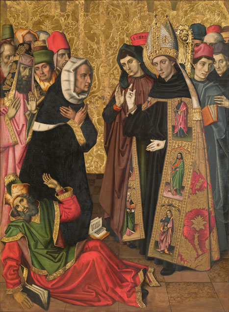 St. Augustine Disputing with the Heretics
