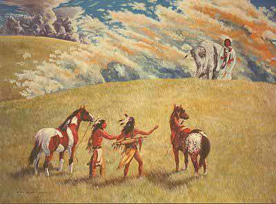 White Buffalo Calf Woman Prophecy