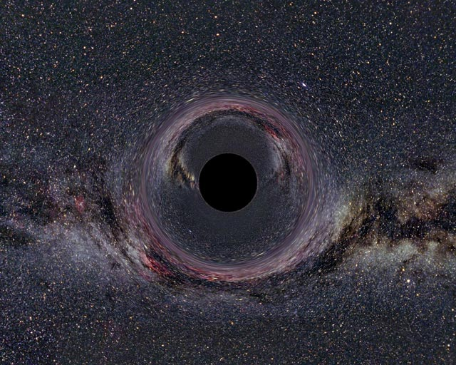 Black Hole in the Milky Way