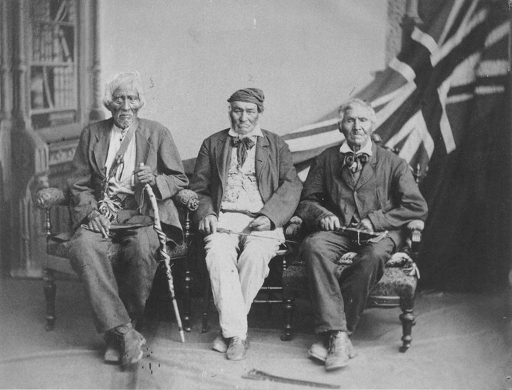 Six Nations Survivors of the War of 1812