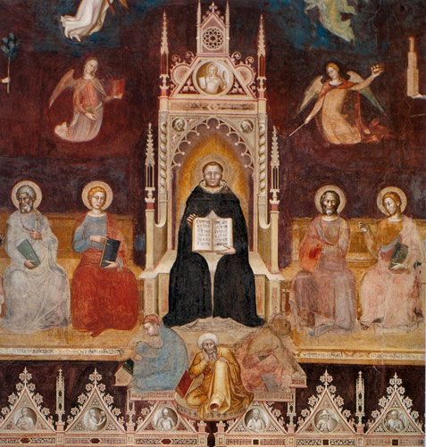 thomas aquinas theorized logical arguments in proving the existence of god The argument of the unmoved mover, or ex motu, tries to explain that god must be the cause of motion in the  god and his existence are a logical necessity.