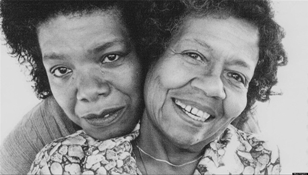 Maya Angelou and her Mother