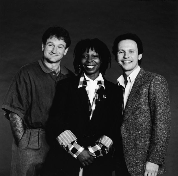 Robin, Whoopi and Billy