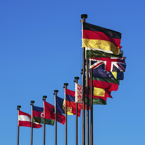 Nation's flags