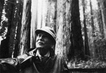Richard St. Barbe Baker—in the cathedral of the redwoods, two weeks before his passing