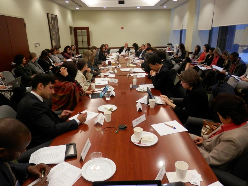 Meeting of the Baha'i International Community in the UN