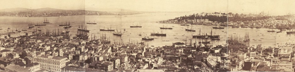 Constantinople circa 1870 – 7 years after Baha'u'llah arrived there in exile.
