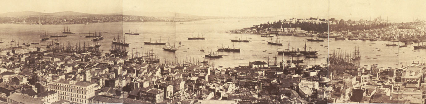 Constantinople 1870 (7 years after Baha'u'llah arrived)