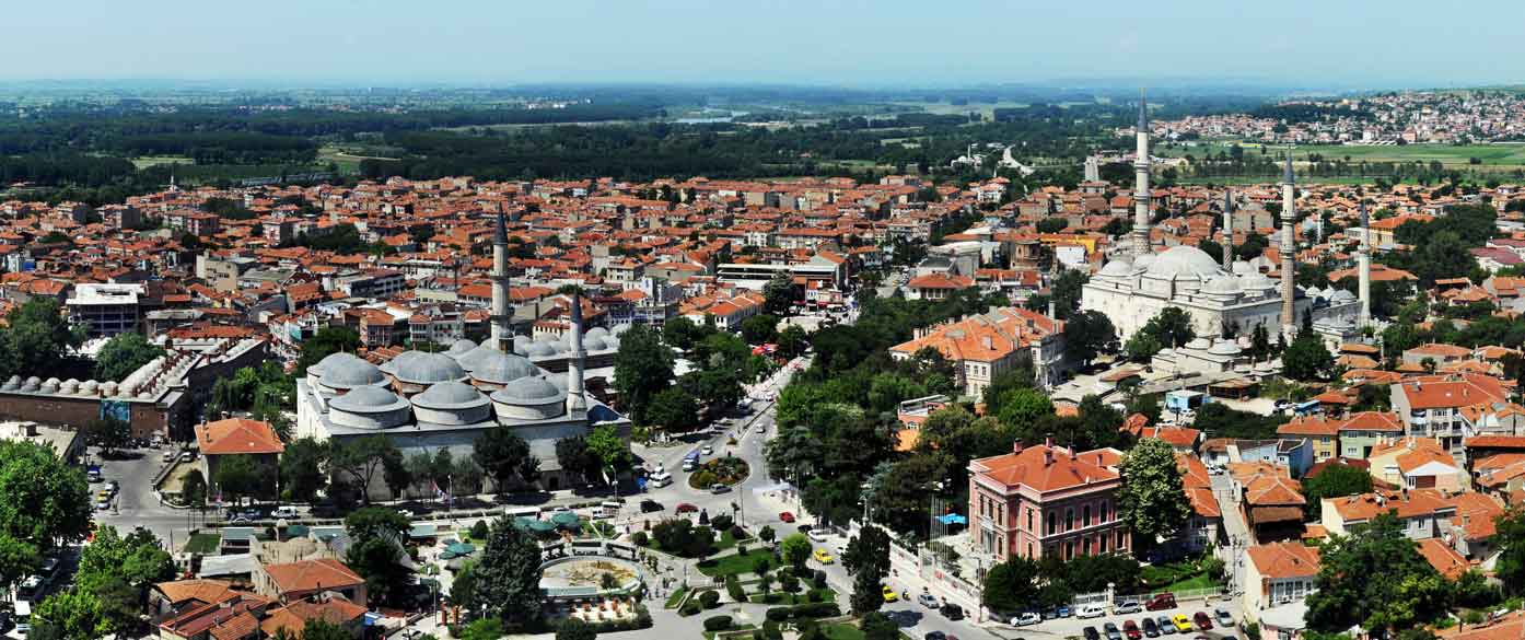 Modern day Adrianople (Edirne, Turkey)