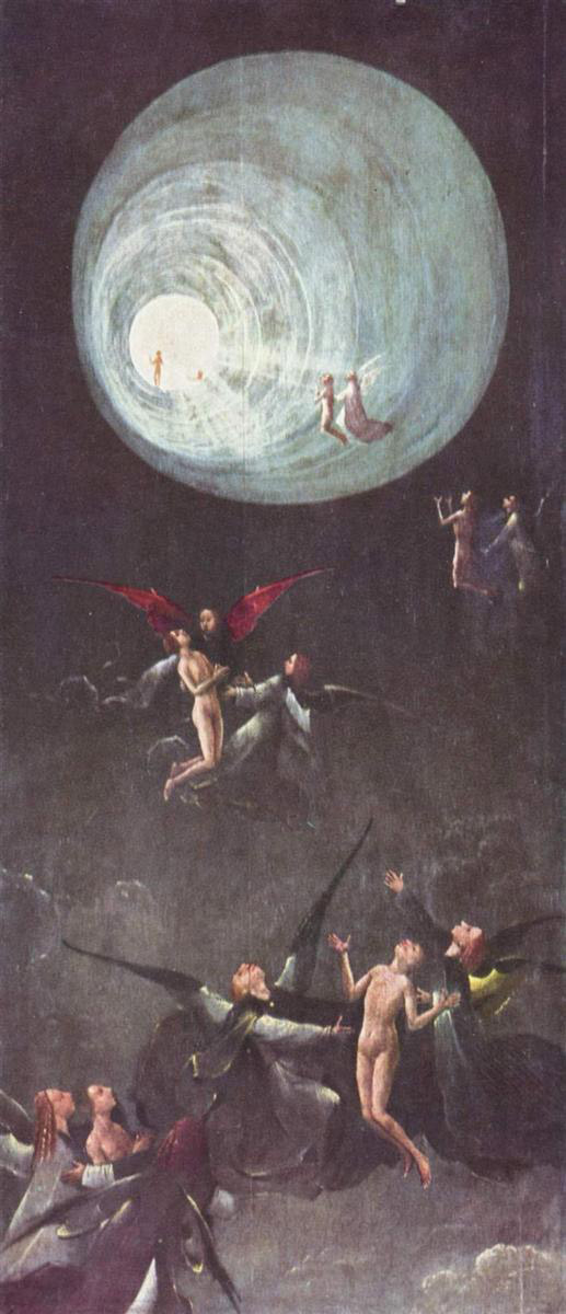 Ascent of the Blessed by Hieronymous Bosch