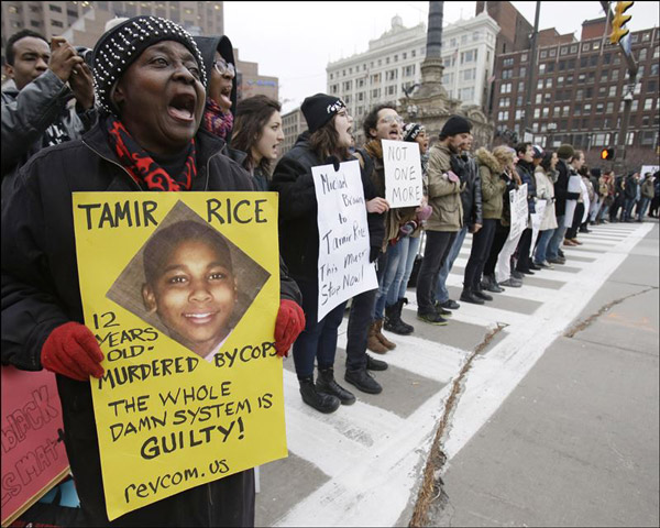 Cleveland-Protest-for-Tamir-Rice
