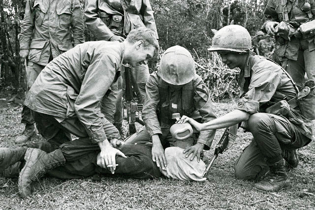an analysis of the american soldiers encounters during the vietnam war Americas reaction to the war in vietnam an analysis of soldiers of the vietnam war major battle of the vietnam war between the american army.