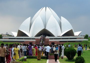 Baha'i House of Worship in India