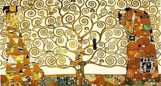 'The Tree of Life' by Gustav Klimt