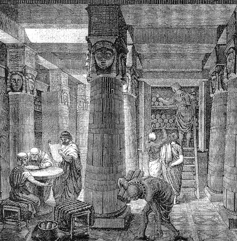 The-Great-Library-of-Alexandria
