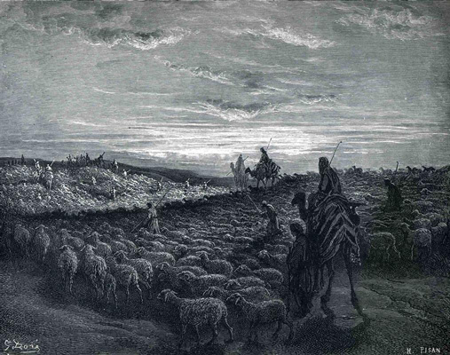 Abraham-Journeying-Into-the-Land-Canaan