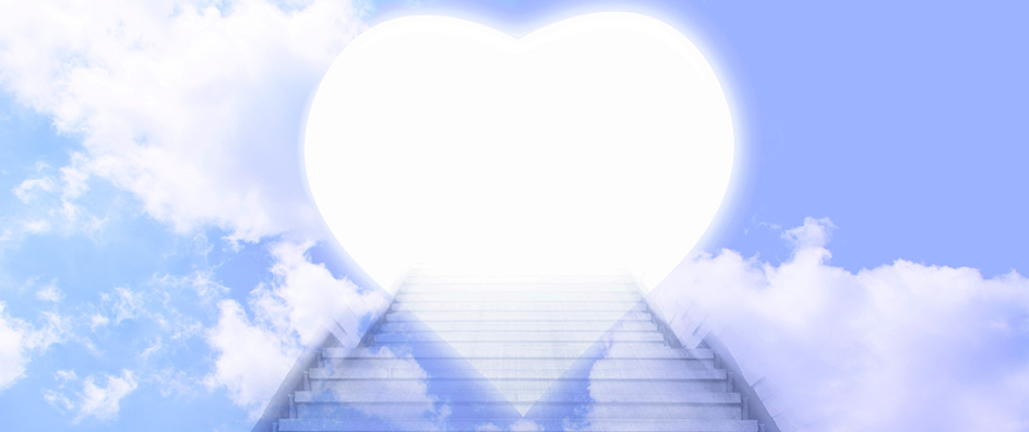 the heart in reality is the door of heaven