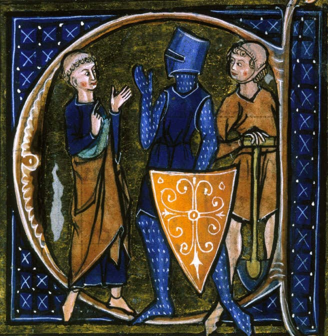 A 13th century French representation of the tripartite social order