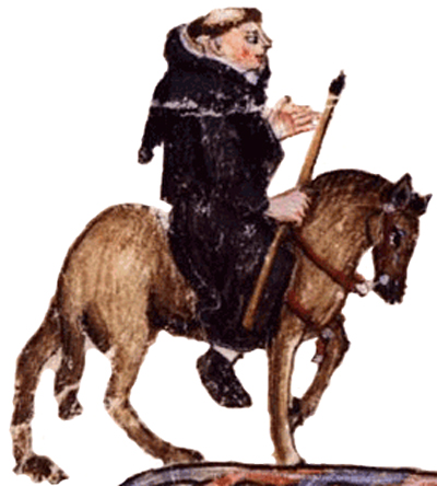 The Friar from Chauncer's Canterbury Tales
