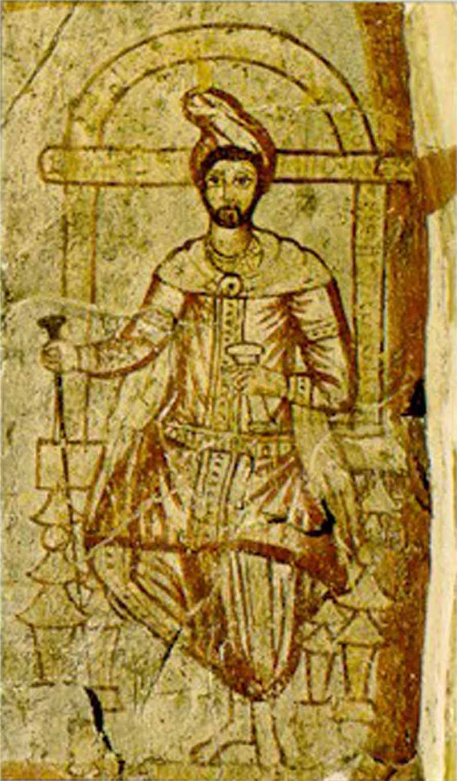 Third century depiction of Zoroaster