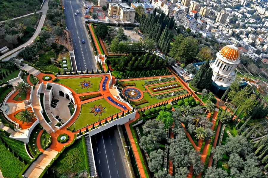 Baha'i World Centre in Haifa, Israel.