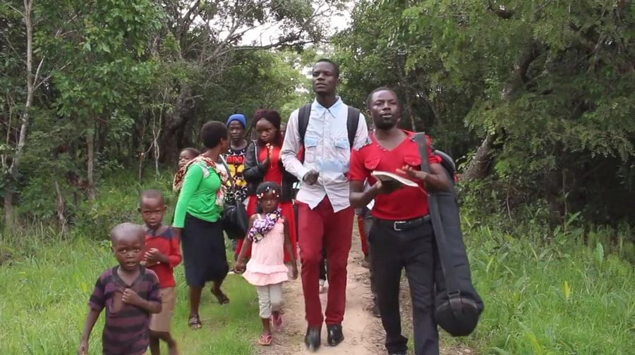 Music is an important part of life amongst the Lunda population.