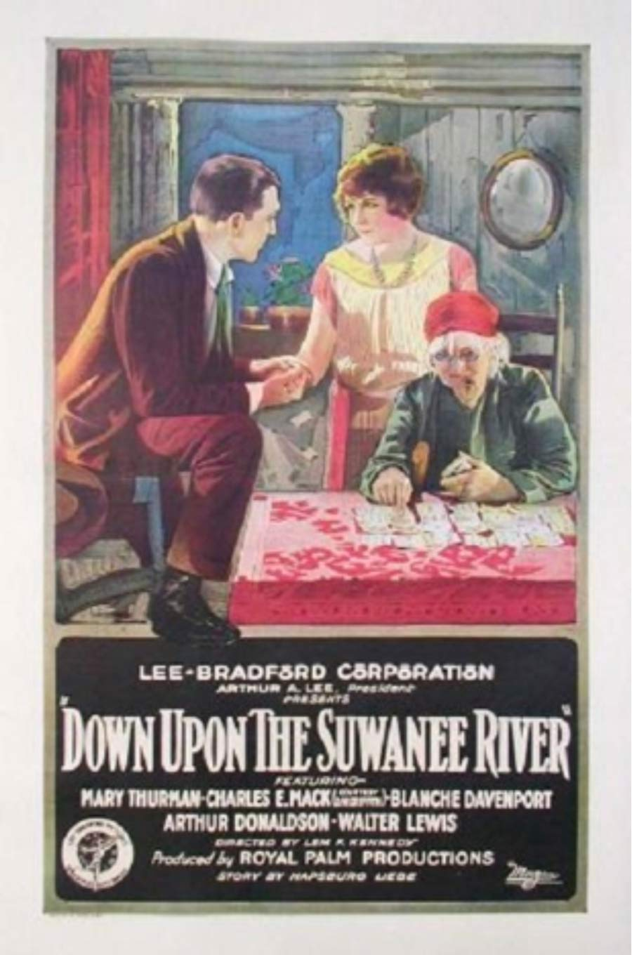 Poster of Down Upon the Suwanee River, released in 1925.