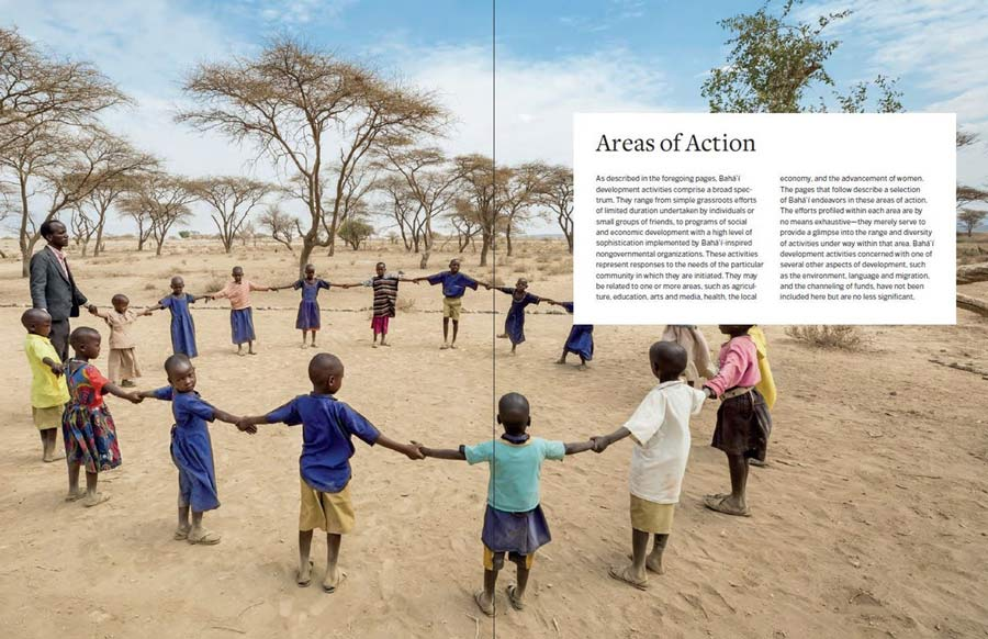 A new edition of For the Betterment of the World was published in April. The publication illustrates the Baha'i community's ongoing process of learning in action in the field of social and economic development.