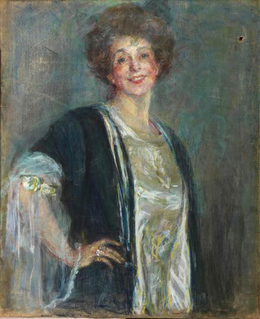 Portrait of Alice Pike Barney by Juliet Thompson