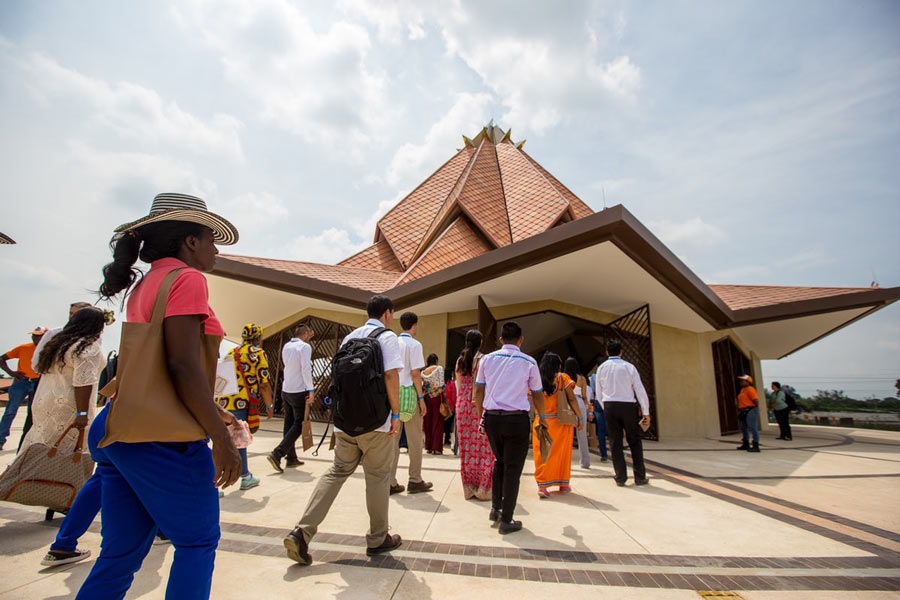 Colombia Baha'i Temple Opens