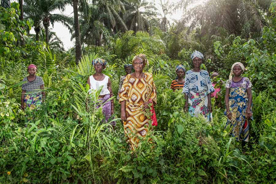 Smallholder farmers in Benin