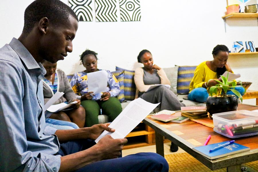 Young people in Kigali, Rwanda, have also been meeting at a weekly youth night to prepare for the bicentenary, turning their focus recently to developing the skill of storytelling.