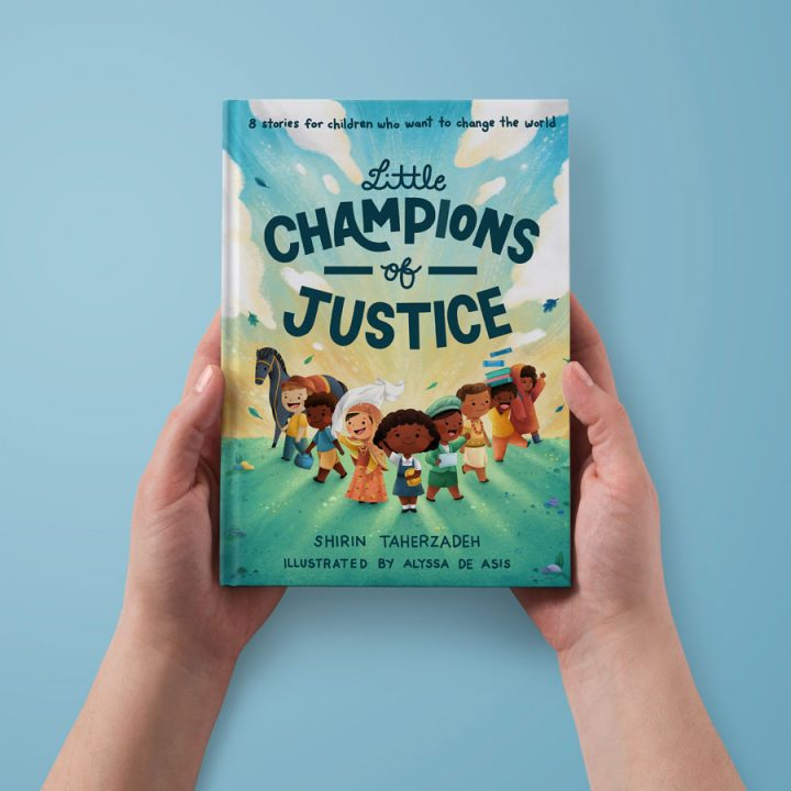 Little Champions of Justice book cover.