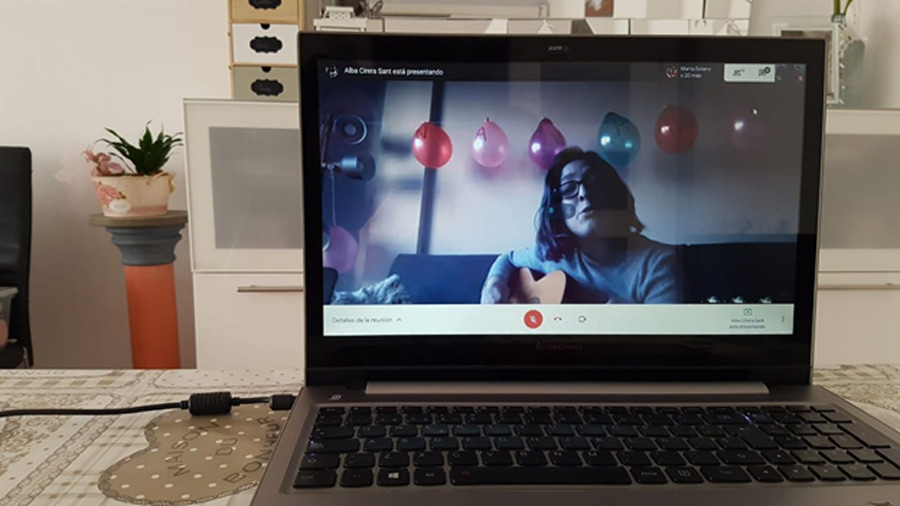 Baha'is in Spain celebrated Naw-Ruz with a live musical celebration over video call.